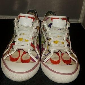 Coach Barrett sneakers . size 8B